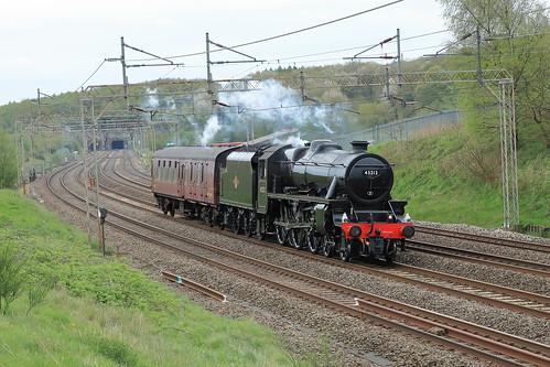 LMS Stanier Class 5 4-6-0 No. 45212