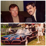 Adam West, Batman, The Batmobile,