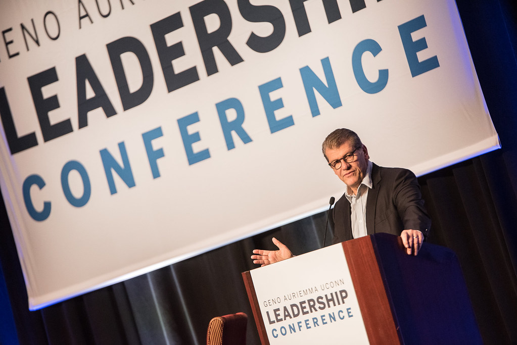Geno Auriemma UConn Leadership Conference 2018