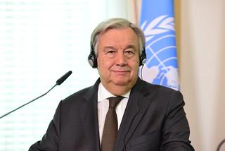 UN Secretary-General António Guterres visits Vienna