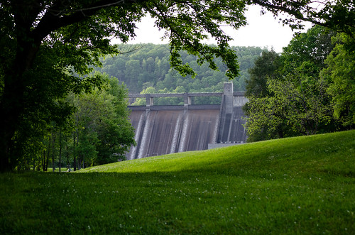 dam tennessee tennesseevalleyauthority norris architecture infrastructure andersonville unitedstates us