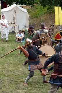 Germán harcosok