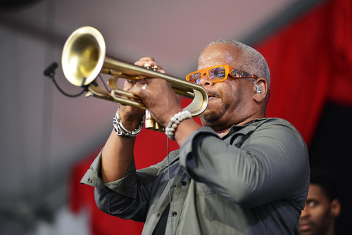 Terence Blanchard on Day 7 of Jazz Fest - May 6, 2018. Photo by Leon Morris.