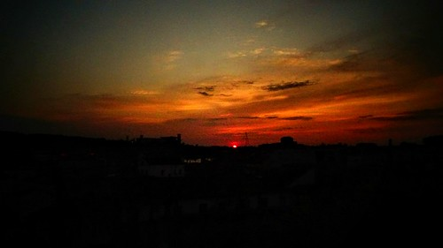 coimbra sunset