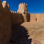 Inside court of qasr zaba'al, Al-Jawf Province, Sakaka, Saudi Arabia