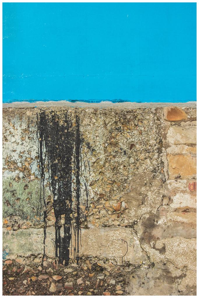 Wall - Blue, St. Monans