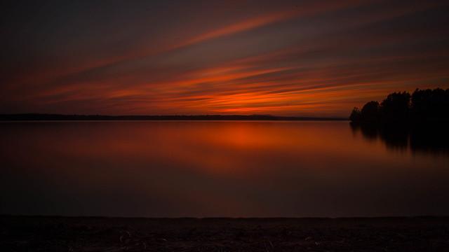 Sebago Sunset Maine