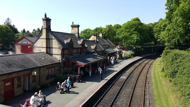 Haverthwaite Station - Lake District.