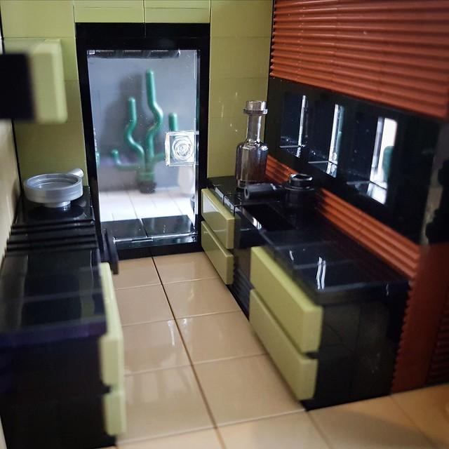 Olive Sand House MOC kitchen I
