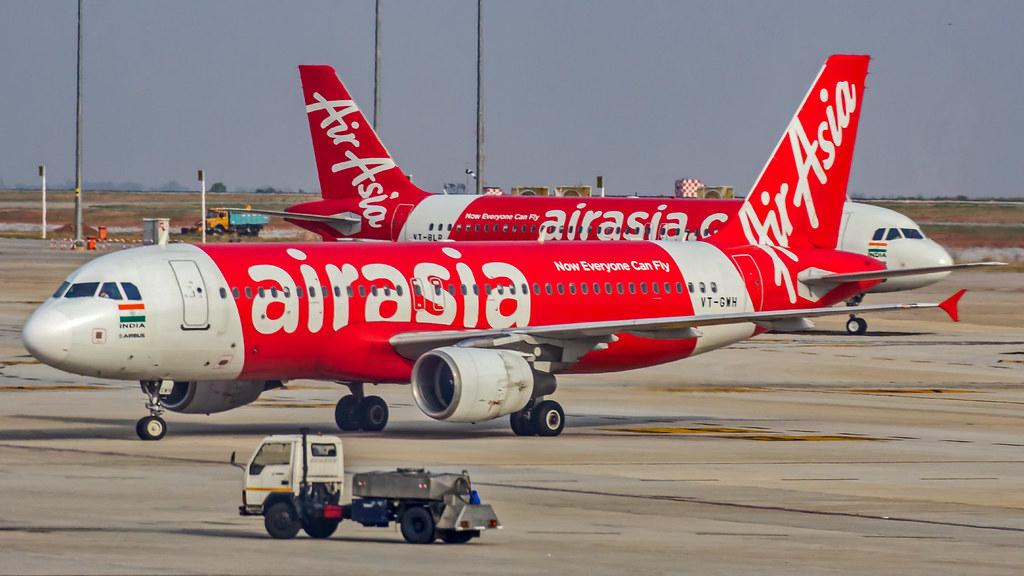 Air Asia India Airbus A320 VT-GWH Bangalore (BLR/VOBL)