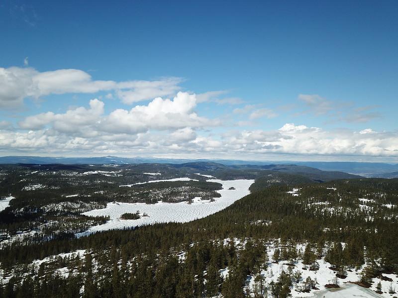 06-Øksne sett fra Vestfjellet (drone)