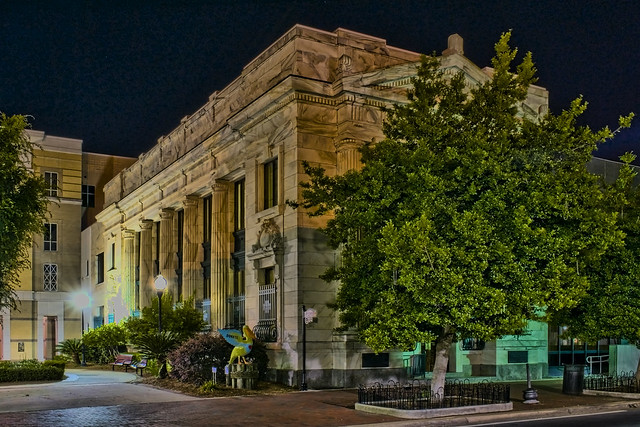 First National Bank Building, 213 S. Palafox Street, Pensacola, Florida, USA, Built: 1908 / Architect: Mowbray and Uffinger, New York / Builder: Charlie Hunter /  Floors: 2 / Architectural Style: Classical Revival