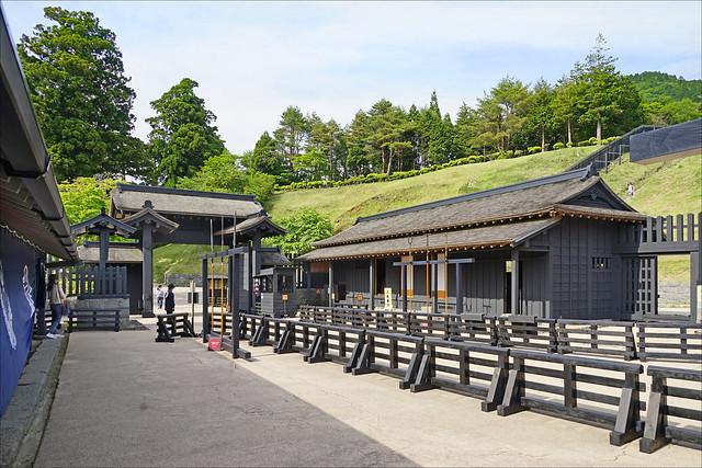 Le poste de contrôle d'Hakone (ancienne route du Tokaïdo, Japon)