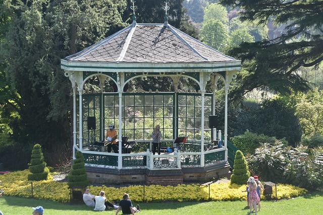 Band Stand at Birmingham Botanical Garden