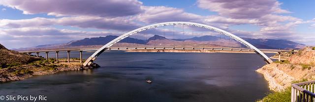 Bridge over Roosevelt Lake