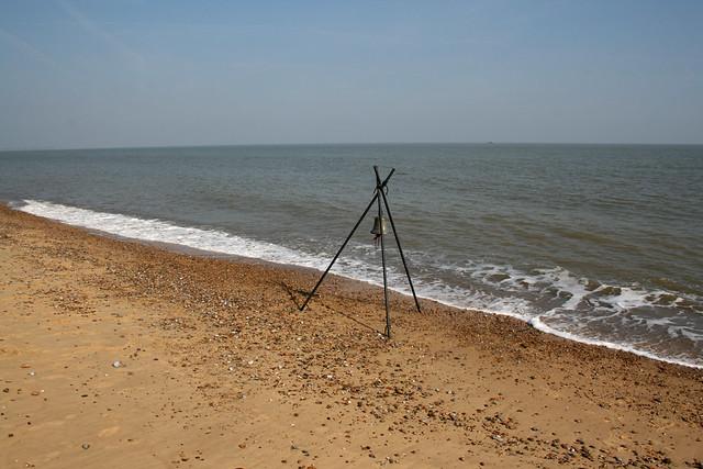 The beach at Minsmere, Suffolk