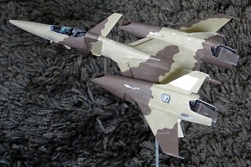 "Macross +++ 1:72 Stonewell/Belcom VF-4A ""Lightning III"" of the U.N. Spacy VAT-127 aggressor squadron (WAVE kit) - WiP | by dizzyfugu"