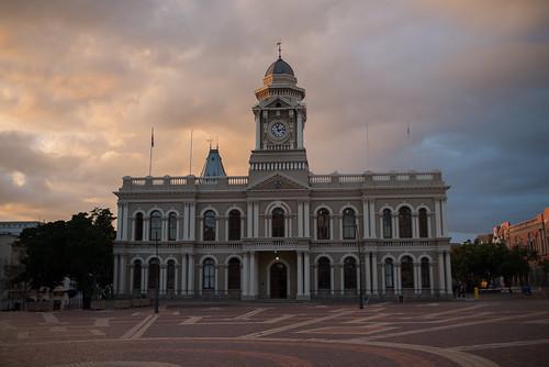 historic portelizabeth portelizabethcityhall southafrica sunrise