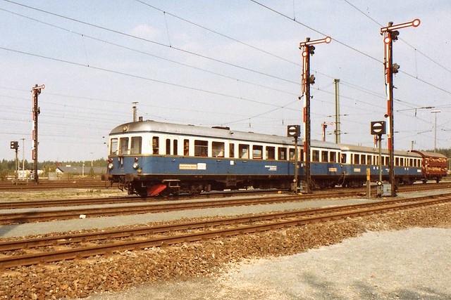 RAG: VT 03 + VS 26 bei der Jubiläumsparade 1985 in Nürnberg-Langwasser