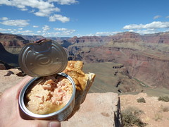 Grand Canyon - South Kaibab Trail, lunch at Skeleton Point