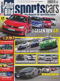 Auto Bild Sportscars 12/2011