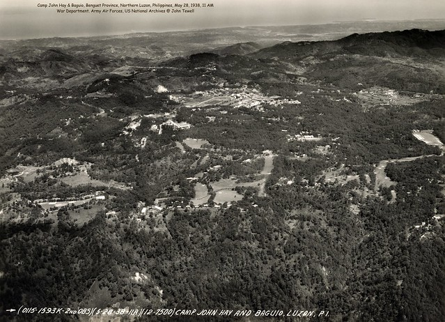 Camp John Hay & Baguio, Benguet Province, Northern Luzon, Philippines, May 28, 1938, 11 AM
