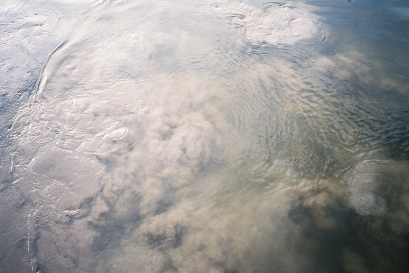 Silt clouds in the Avon