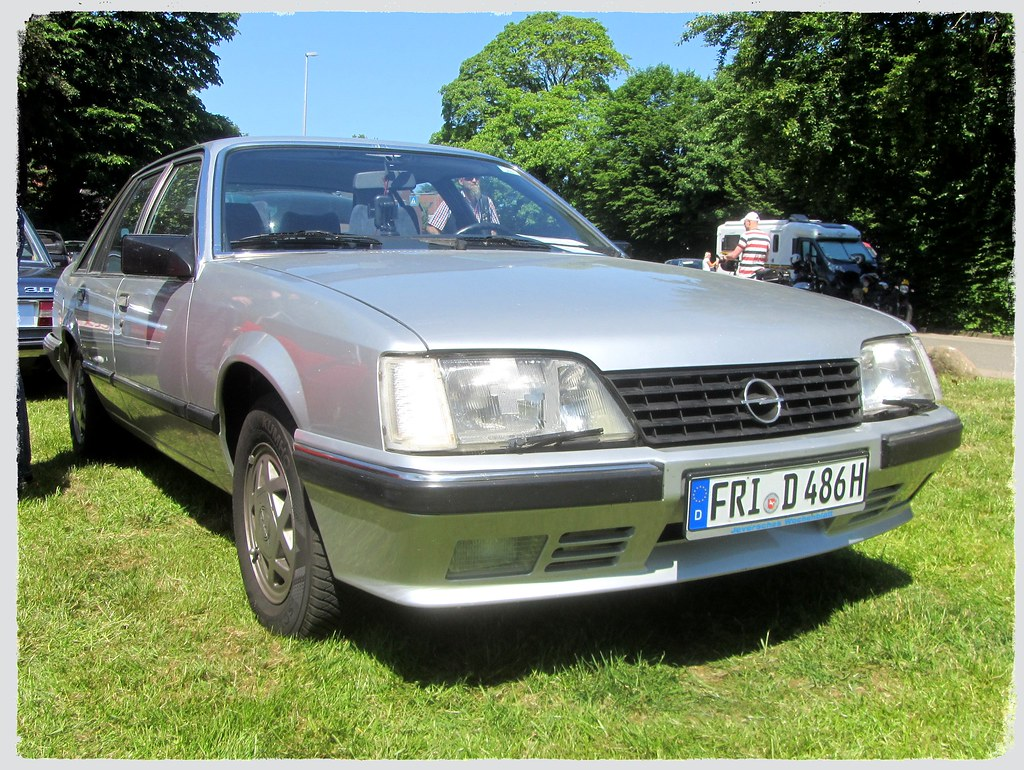 Opel Senator A2 1986 4 Oldtimertreffen Zum Maimarkt Ost Flickr