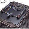 351-TERP-005 Tern Market Basket後貨架專用編織仿籐快拆式菜籃23L承重10KG黑(463426)