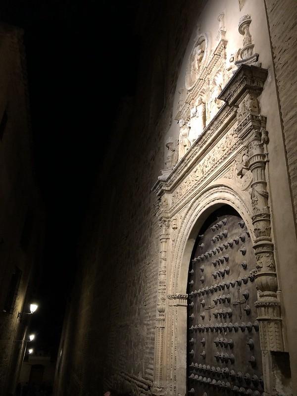 Toledo, portada del convento de San Clemente