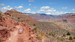 Grand Canyon - South Kaibab Trail, nearing Skeleton Point (2)