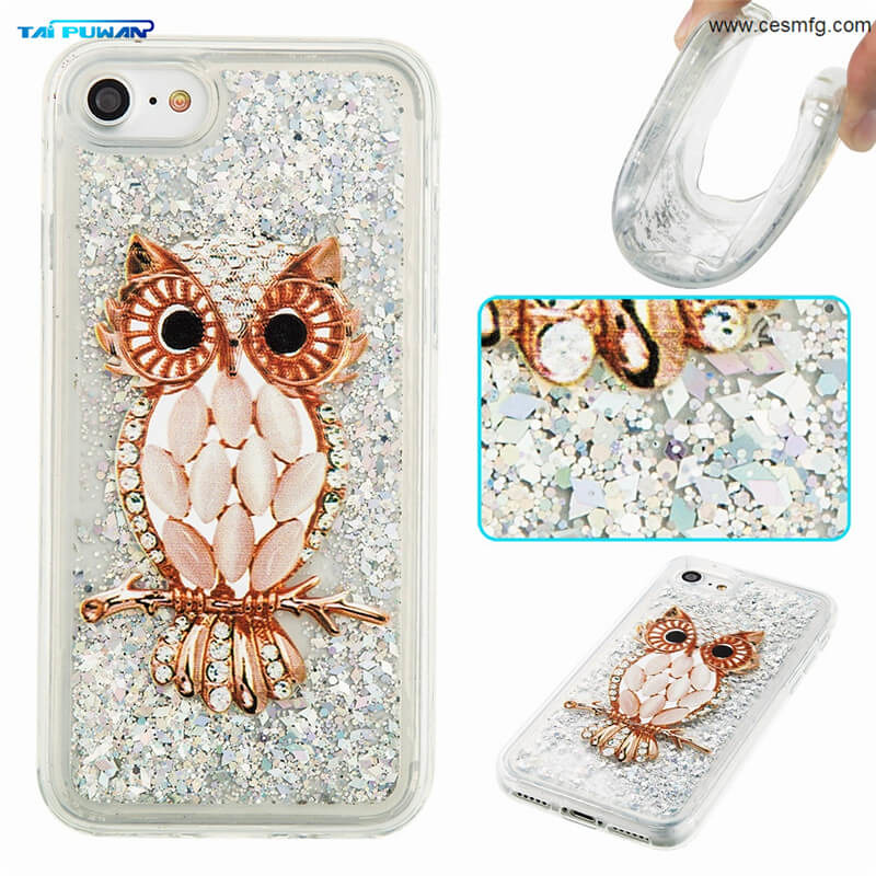 10 Style Soft TPU Bling Glitter Flowing Paillette Stars Quiksand Case Cover for Apple iPhone 7 7 Plus 5 5c 6 6 Plus 4S 4 Samsung Galaxy S7 S7 Edge S5 S6 S6 Edge J3 J5 J3(2016) J5(2016) J3 Prime J5 Prime