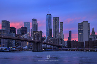 Pink Sunset, Manhattan, NYC | by fesign