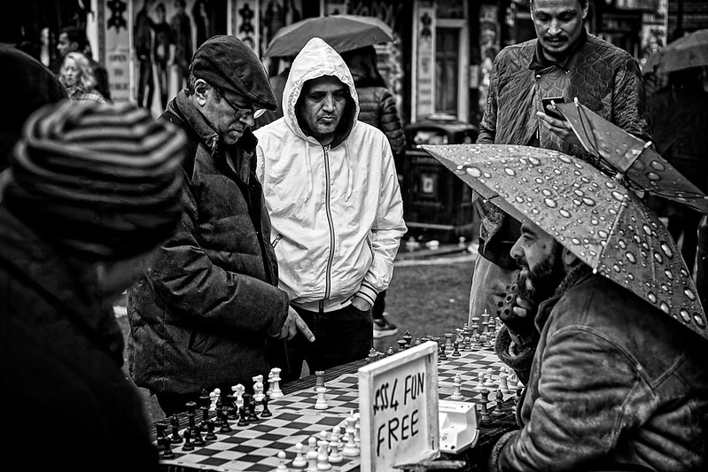 The chess wizard of Brick Lane.