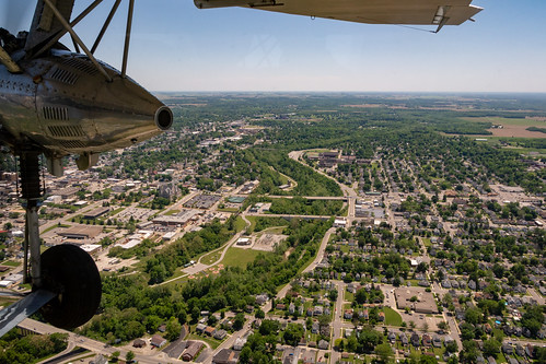 ford wayne county indiana airplane richmond trimotor waynetorg transporation fordtrimotor waynecounty aerial gorge whitewatergorge