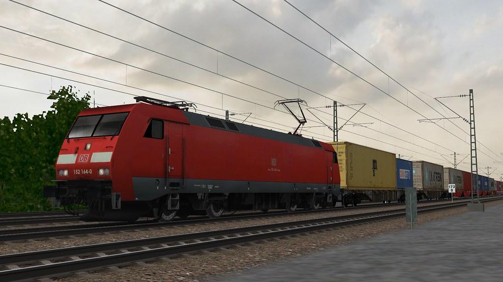 Open Rails 2018-05-09 10-12-49 | BR 152 repaint + freightani… | Flickr