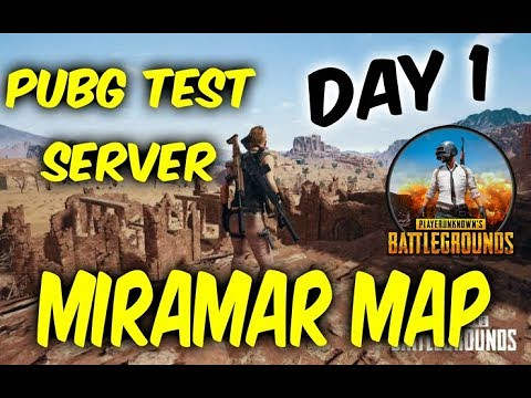 PUBG TEST SERVER DAY 1 - MIRAMAR MAP PUBG XBOX ONE GAMEPLA