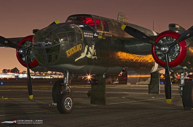 B-25J 44-28932 Tondelayo N3476G