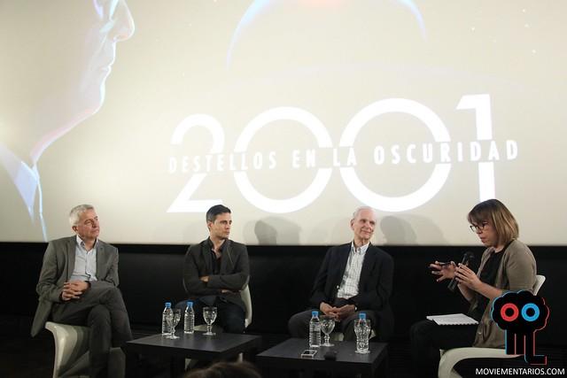 Presentación de '2001 destellos en la oscuridad' con Keir Dullea