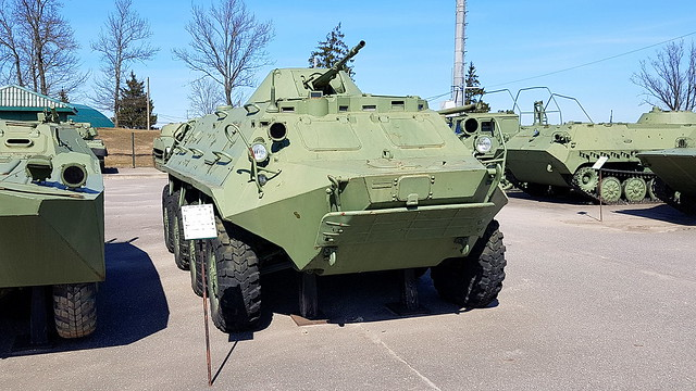 Armoured personnel carrier BTR-60PB
