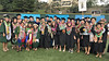 University of Hawaii at Manoa Office of Public Health Studies students celebrate graduation with OPHS faculty and staff at the Manoa commencement ceremony on May 12, 2018.