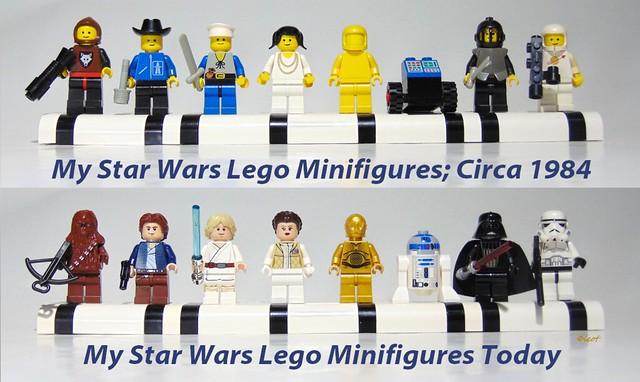 Star Wars Minifigs Circa 1984