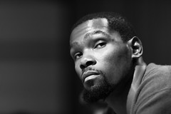 Kevin Durant of the Golden State Warriors