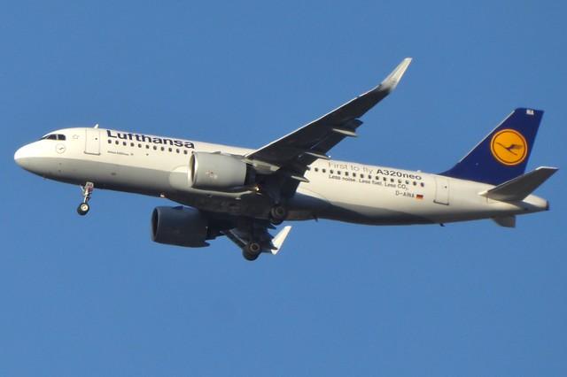 D-AINA Heathrow 22 October 2017