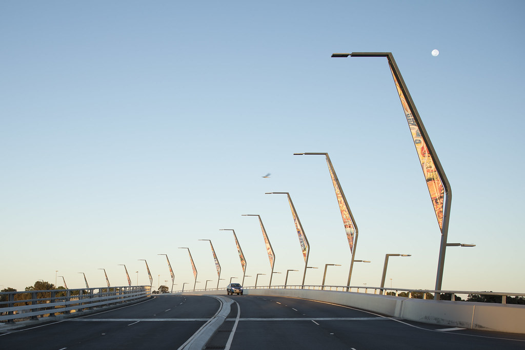 MANDURAH TRAFFIC BRIDGE, PERTH, WA   VFL540-SE, VFL530-SE