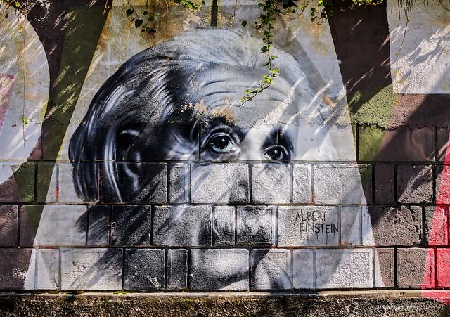Opatijski portreti poznatih - Albert Einstein