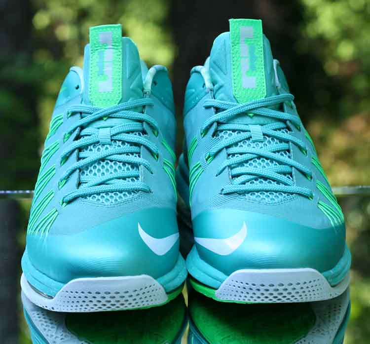 new arrival a5354 a4820 ... Nike Air Max LeBron 10 X Low Easter Crystal Mint Green 579765-300 Men s  Size