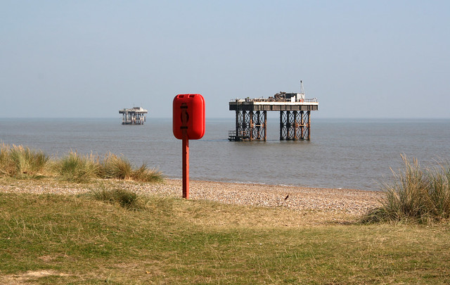 The beach at Sizewell