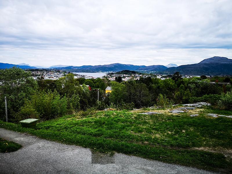 40-Utsikt over Kirkelandet fra Varden
