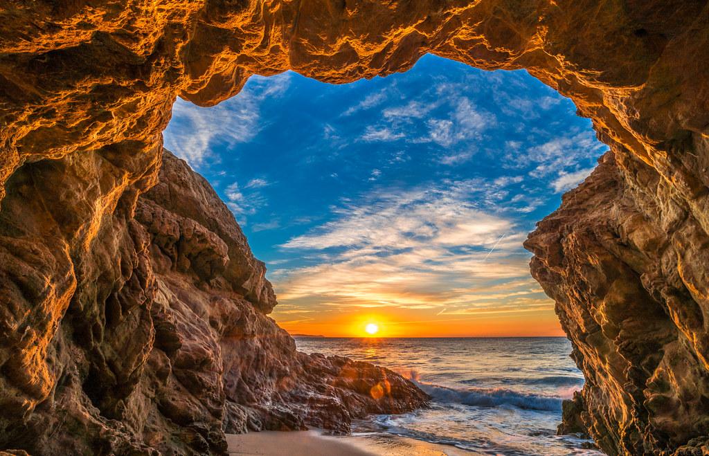 Landscape Photography Definition: Beautiful Beach Scenery! Epic High Resolution Malibu Lands